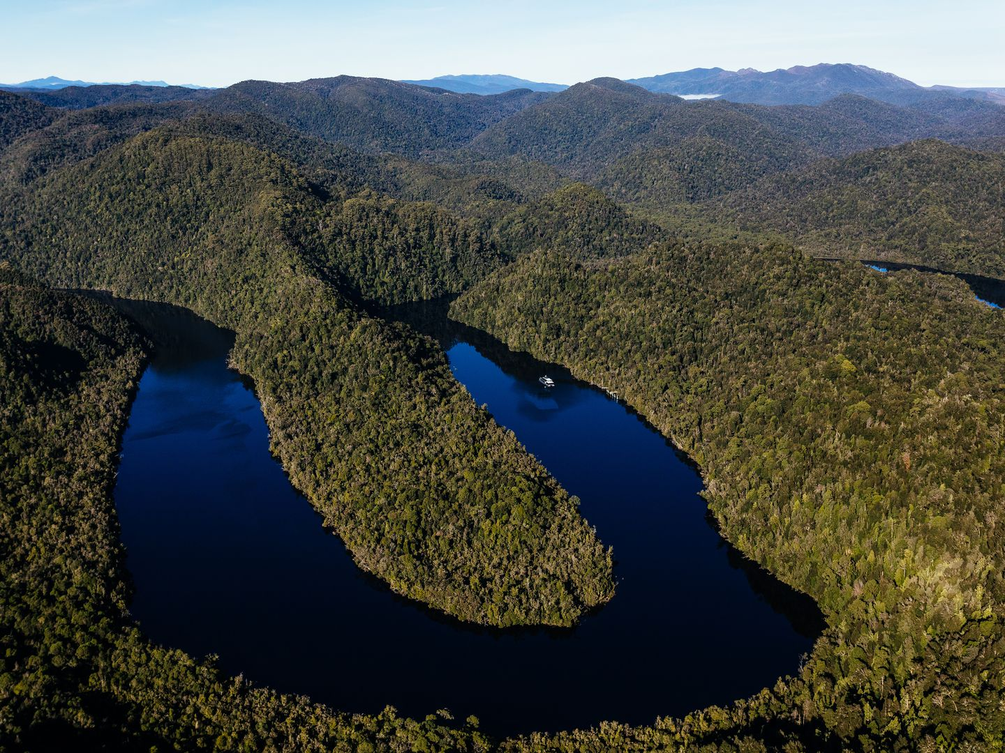 Gordon River, Strahan (courtesy of Gordon River Cruises/RACT)